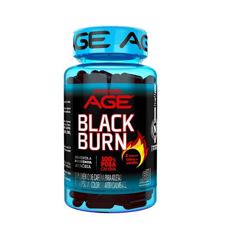 Black Burn 60 Caps Age Nutrilatina