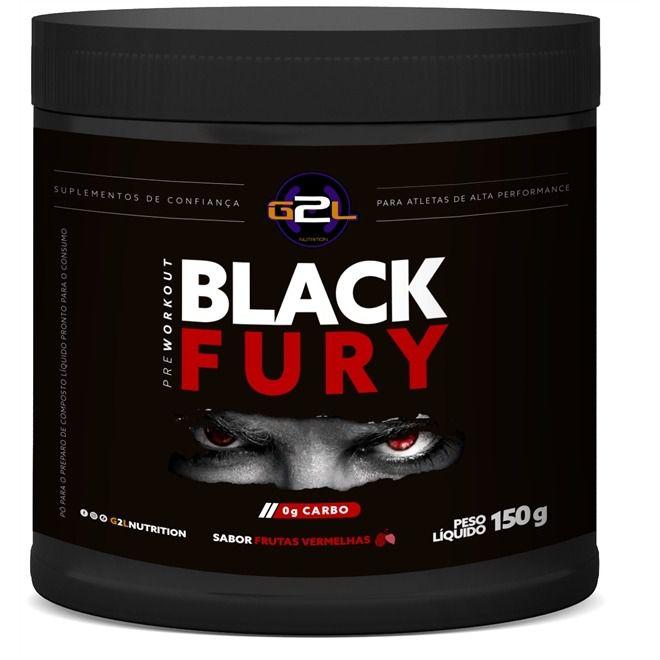 Black Fury 150g G2L Nutrition