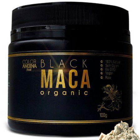 Black Maca Organic 100g Color Andina Food