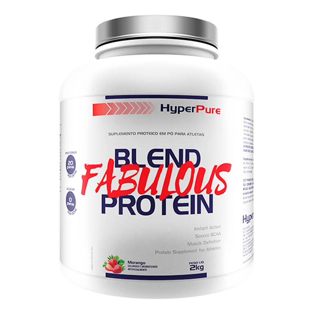 Whey Blend Fabulous Protein 2Kg HyperPure