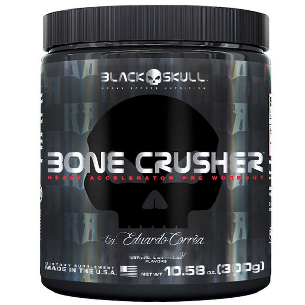 Bone Crusher 300g Black Skull