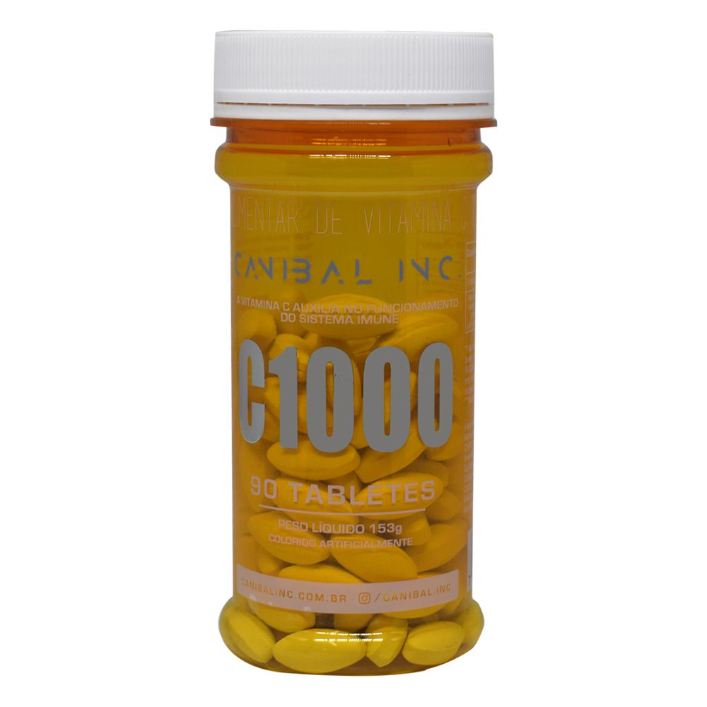 Vitamina C 1000 90 tabs Canibal Inc