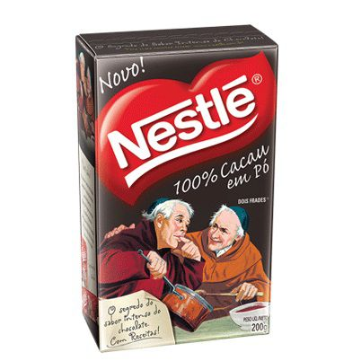 Cacau em Pó Dois Frades 100% Cacau 200g Nestlé