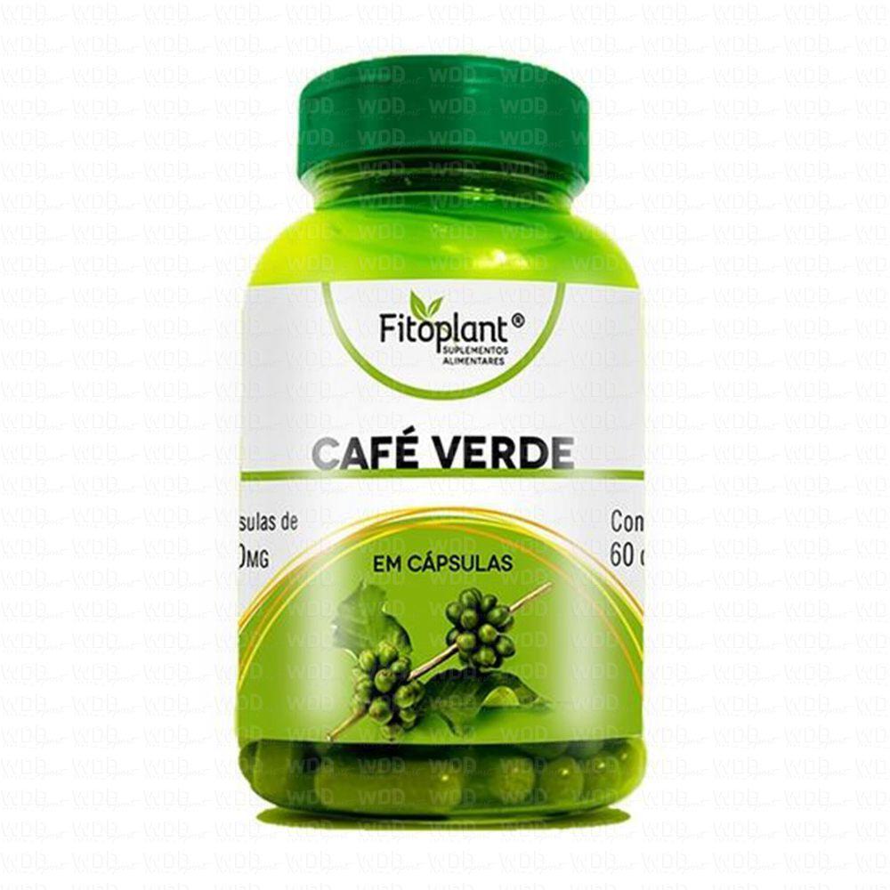 Café Verde 500mg 60 caps Fitoplant
