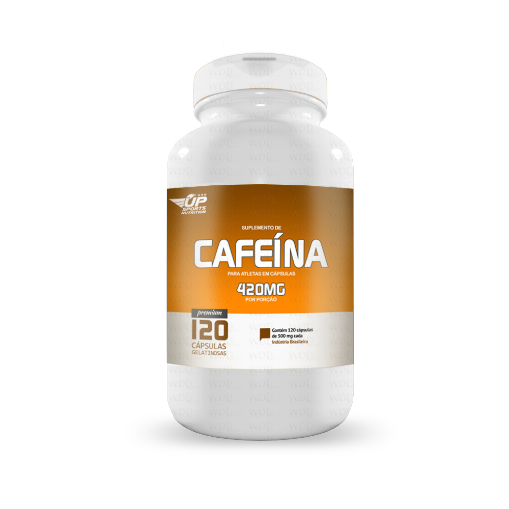 Cafeína 120 caps Up Sports Nutrition