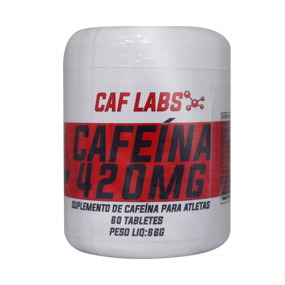 Cafeína 420mg 60Tabs Caf Labs