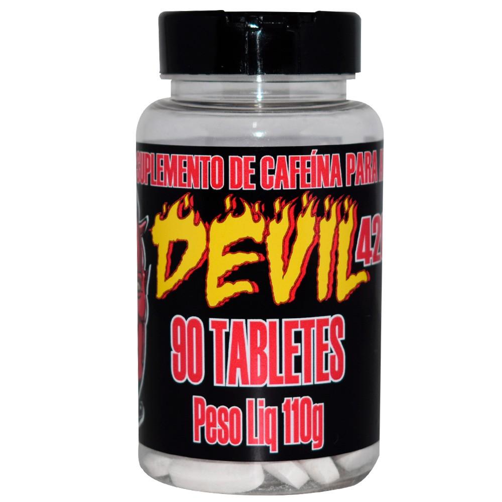 Cafeína 420mg 90 caps Devil