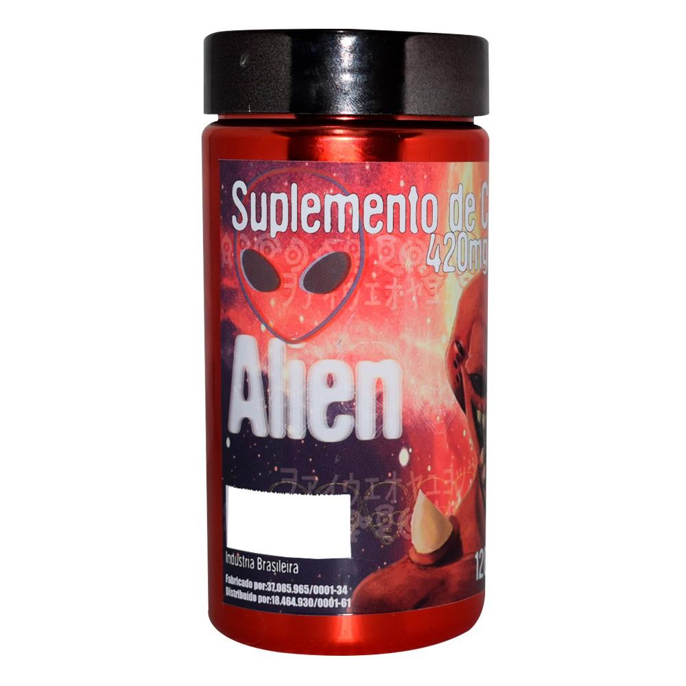 Cafeína Alien 420mg 120caps