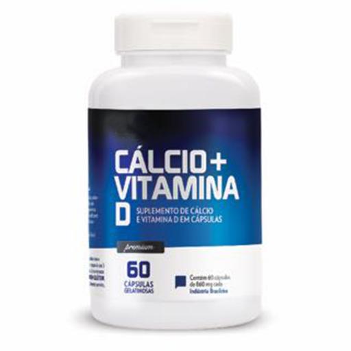 Cálcio + Vitamina D 60 caps Lavitte