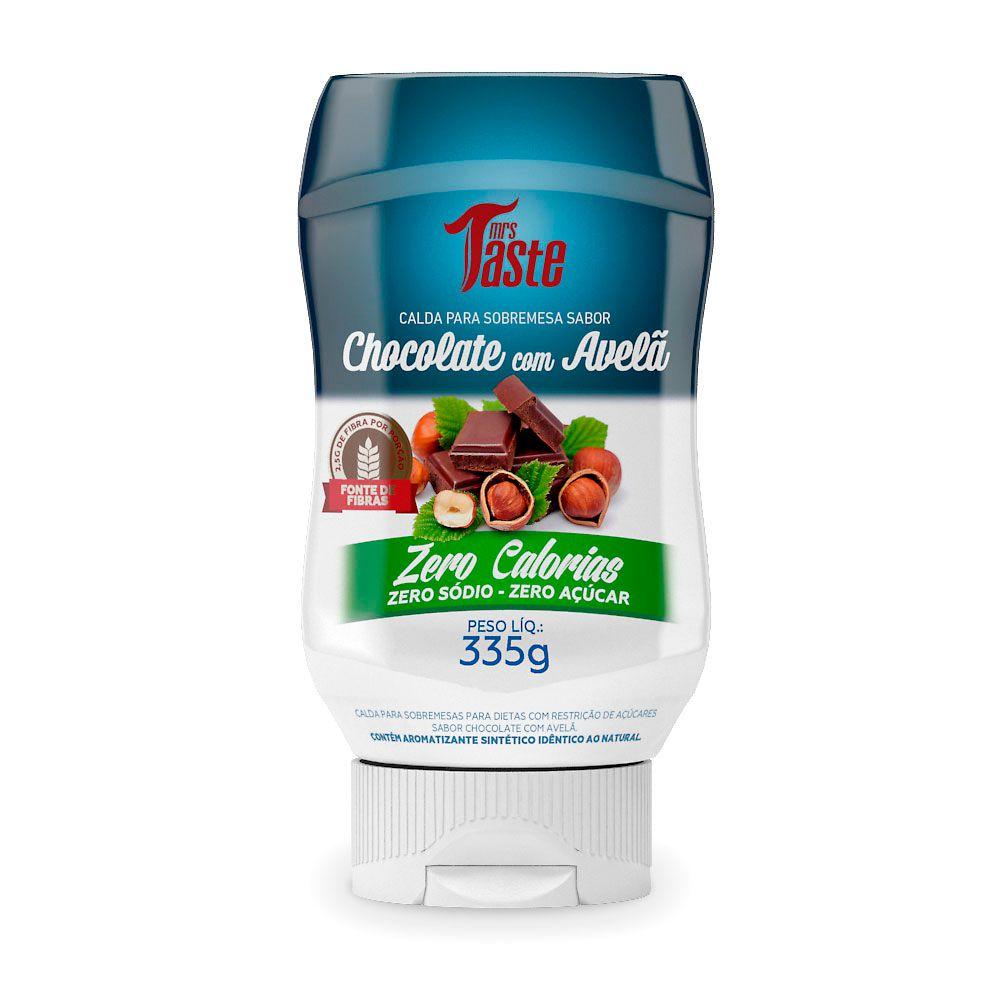Calda Para Sobremesa Chocolate com Avelã 335g Mrs Taste