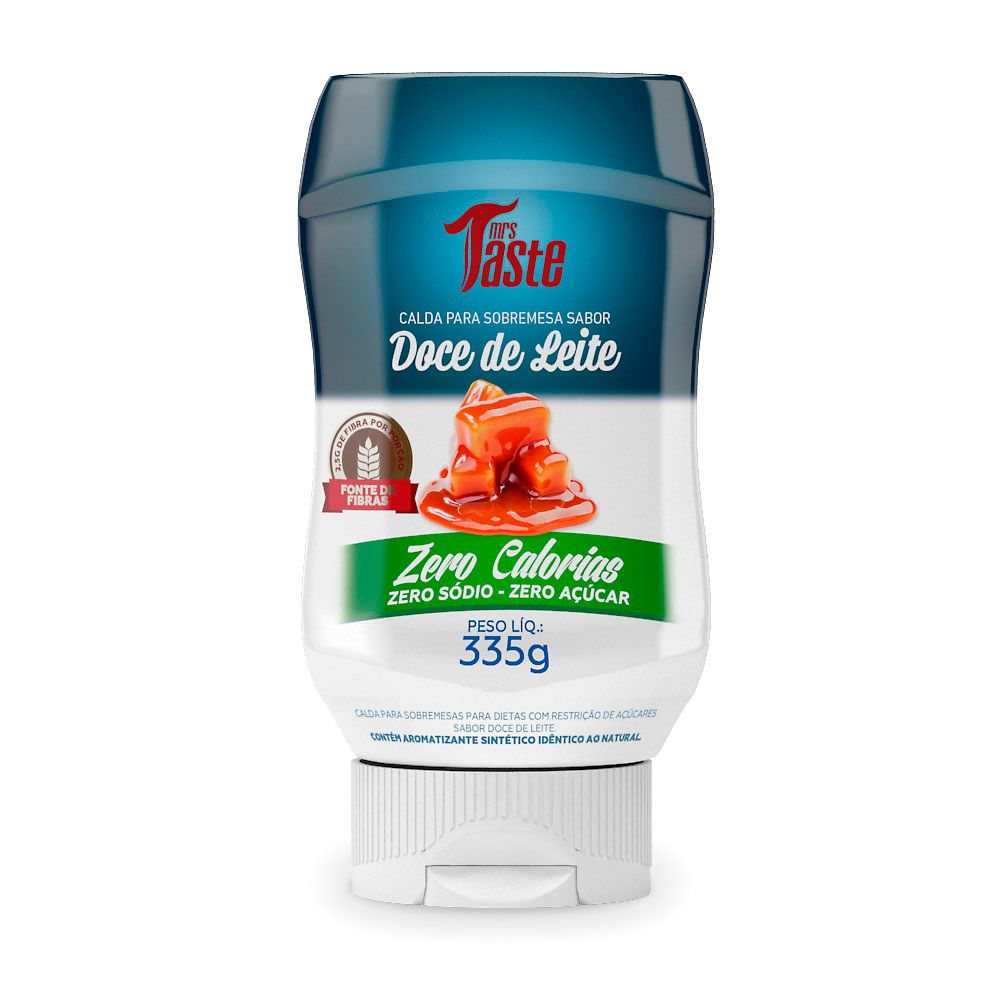 Calda Para Sobremesa Doce de Leite 335g Mrs Taste