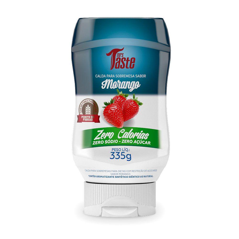 Calda Para Sobremesa Morango 335g Mrs Taste