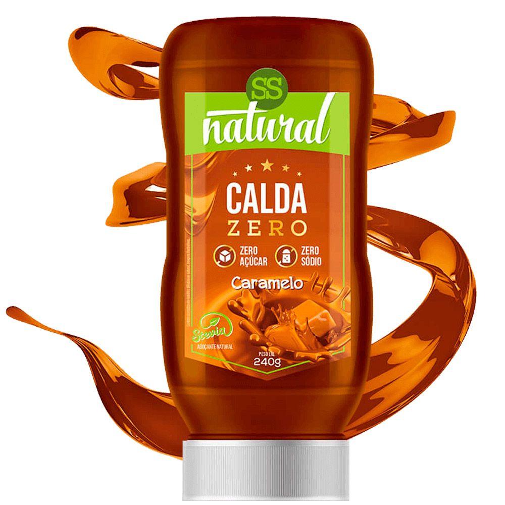 Calda Zero Caramelo 240g SS Natural