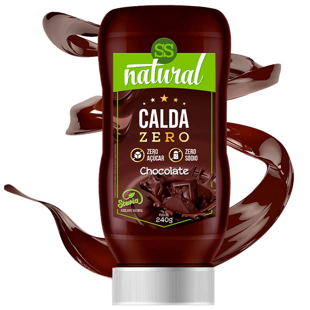 Calda Zero Chocolate 240g SS Natural