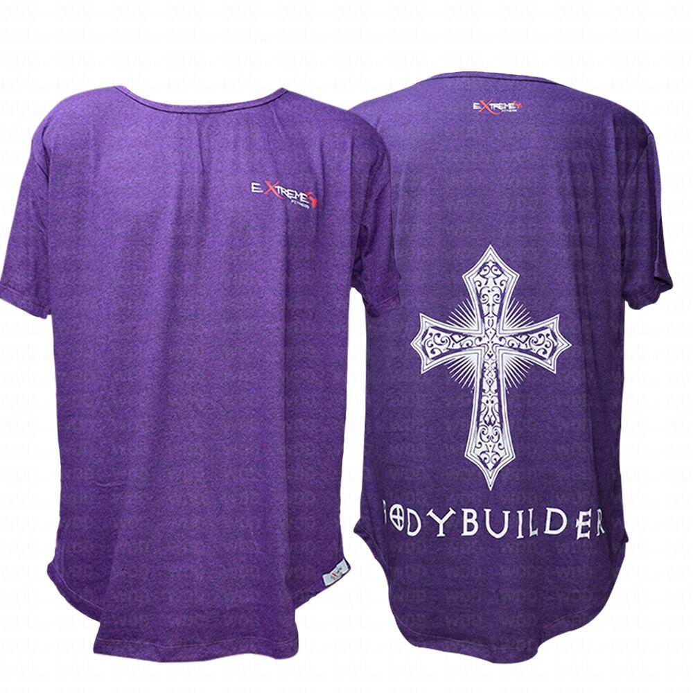 Camiseta Roxa Bodybuilder Extreme Fitness