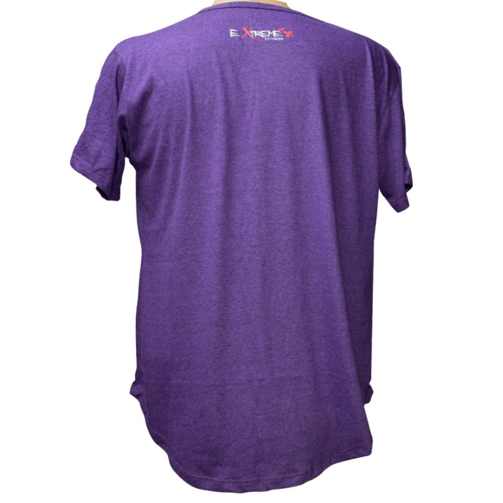 Camiseta Roxa Feito Pra Guerra Extreme Fitness