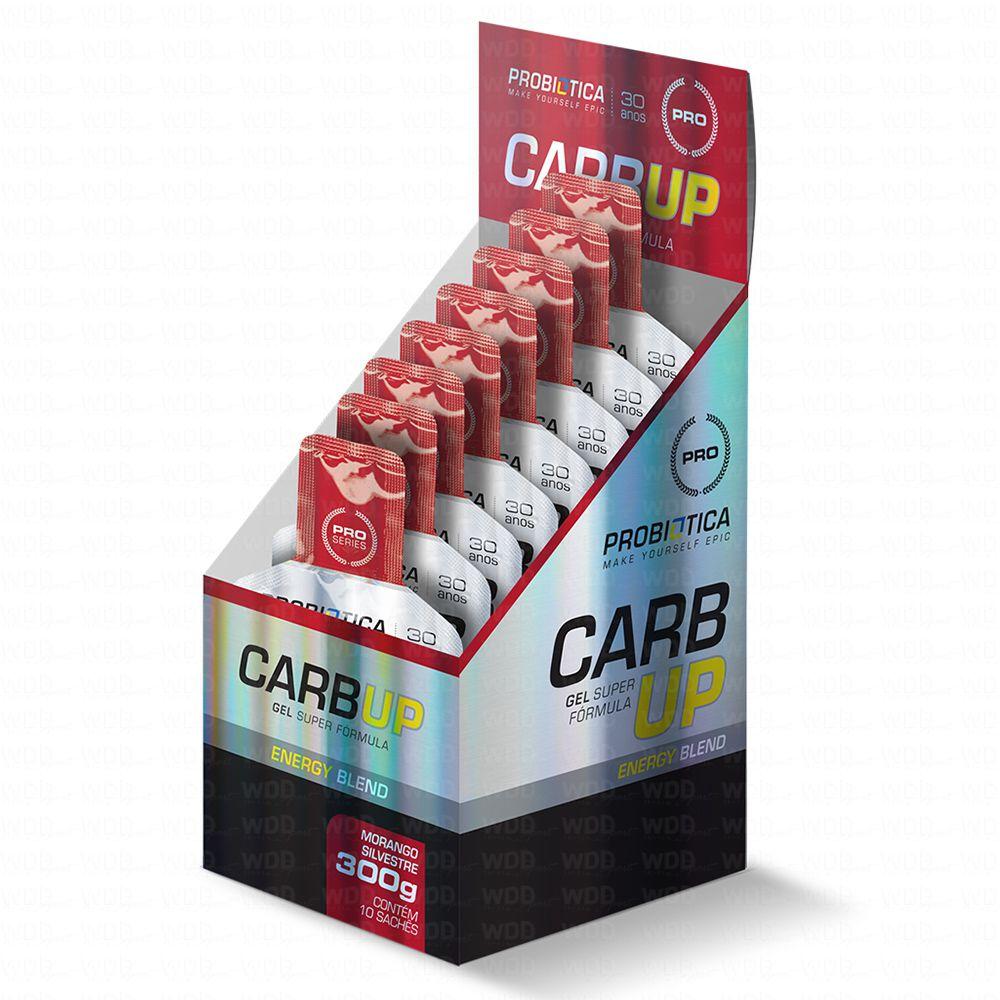 Carb Up Gel Energy Blend Cx. c/ 10 Sachês de 30g Probiótica