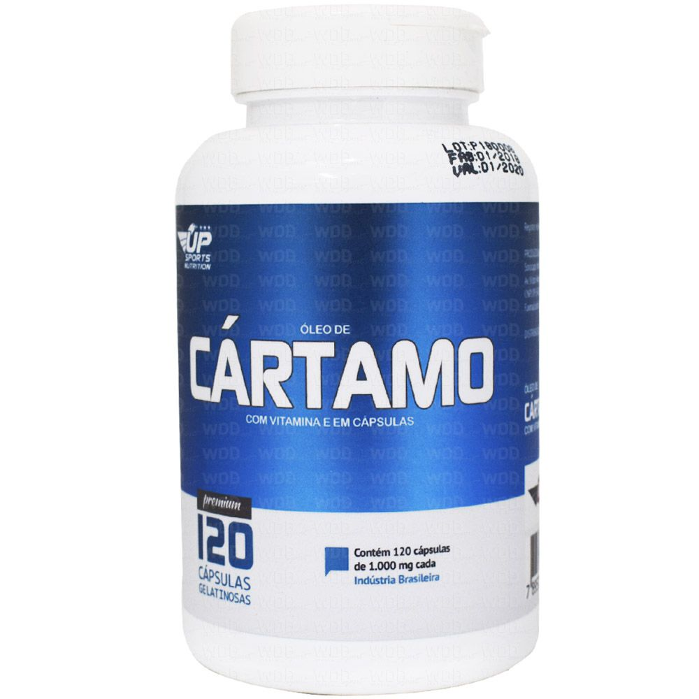 Óleo de Cártamo 120 caps Up Sports Nutrition
