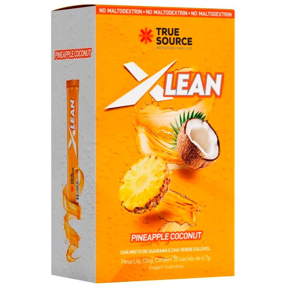 Chá Xlean  Cx C/ 20 Sachês de 6,7g True Source