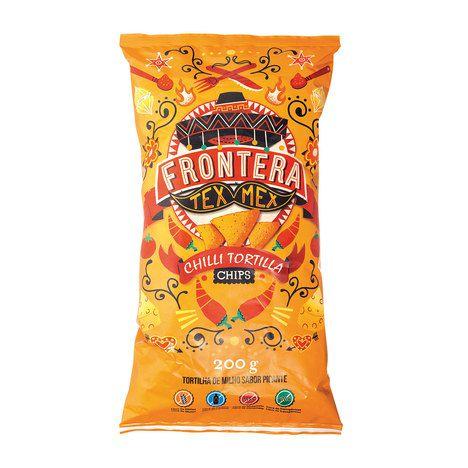 Chilli Tortilla Chips 200g Frontera
