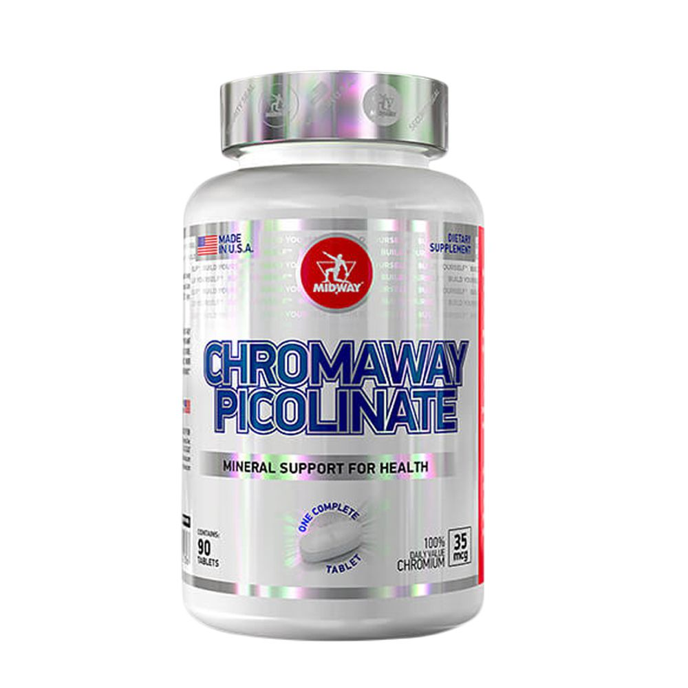 Chromaway Picolinate 90 tabs Midway