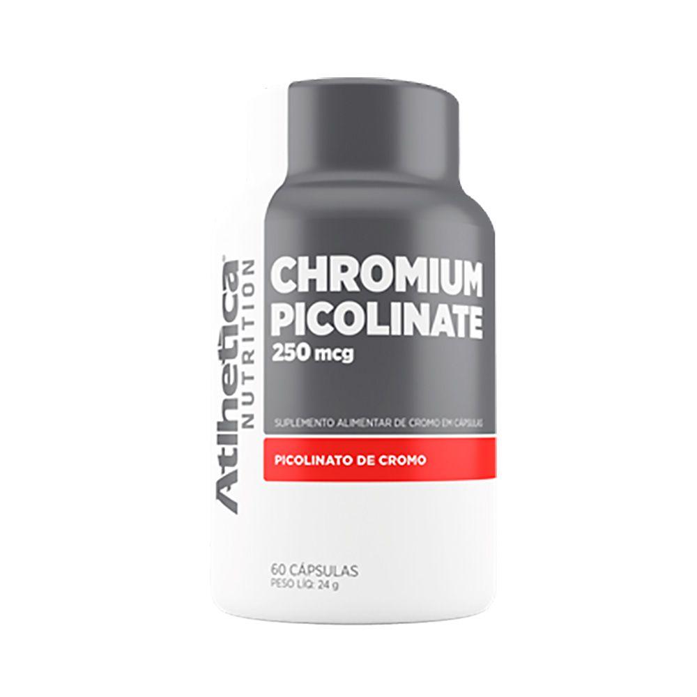 Chromium Picolinate 250mcg 60 Caps Atlhetica
