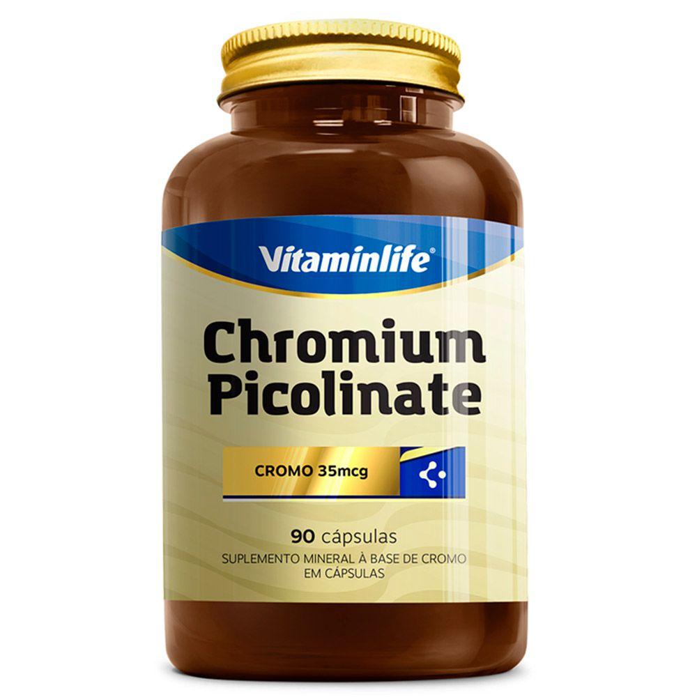Chromium Picolinate 250mcg  90caps Vitaminlife