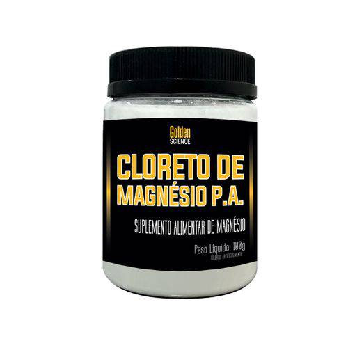 Cloreto de Magnésio P.A. 100g Golden Science