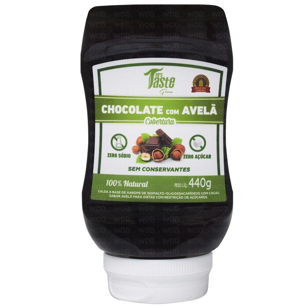 Cobertura de Chocolate com Avelã 440g Mrs Taste