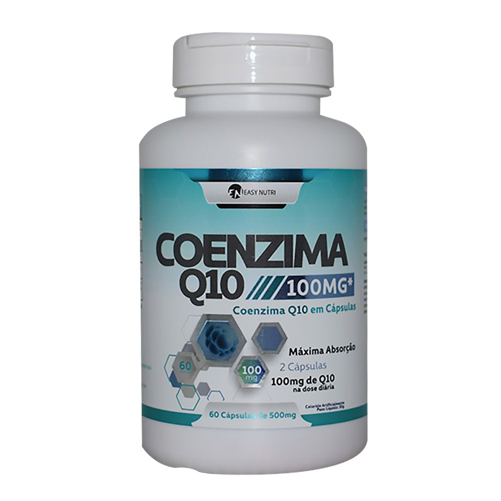 Coenzima Q-10 100mg 60Caps Easy Nutri