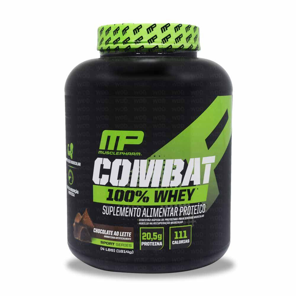 Combat 100% Whey 4Lbs Muscle Pharm