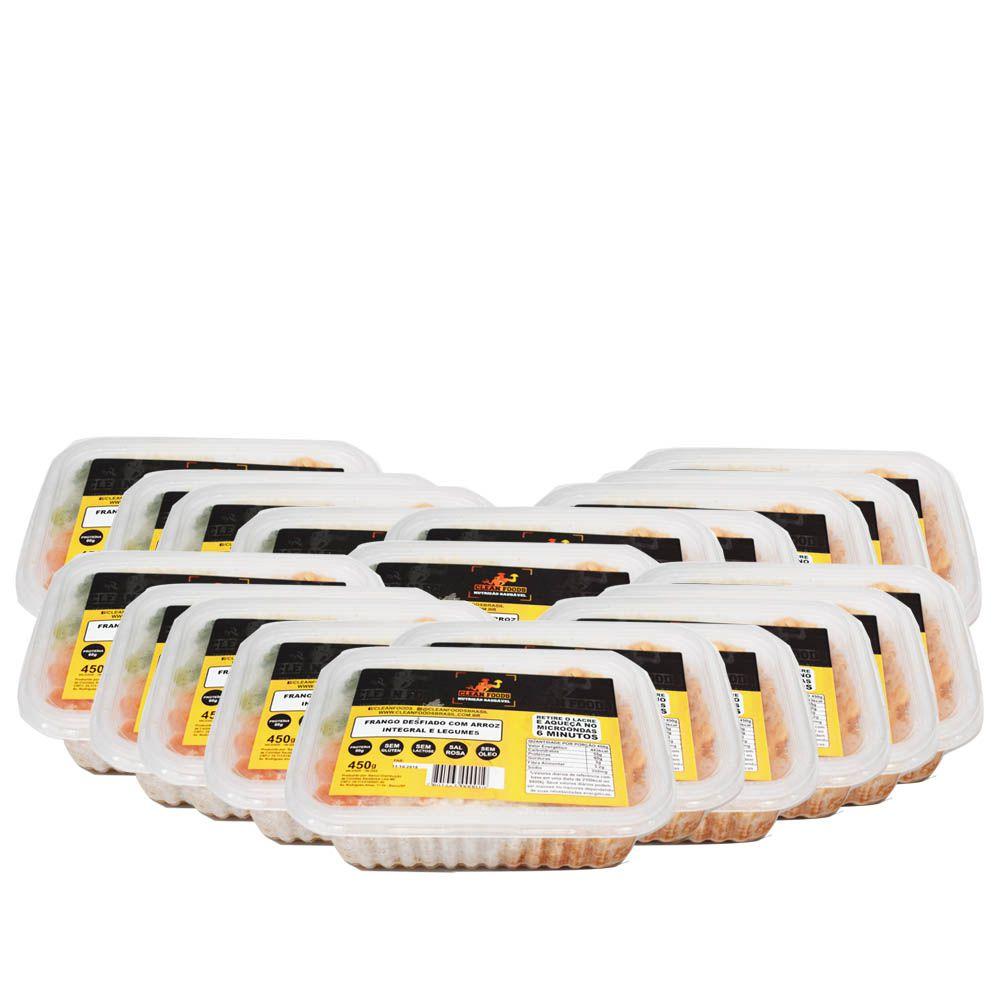 Combo 20 und Marmitas Congeladas 450g Clean Foods