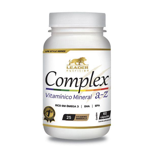 Complex A-Z 60 caps Leader Nutrition