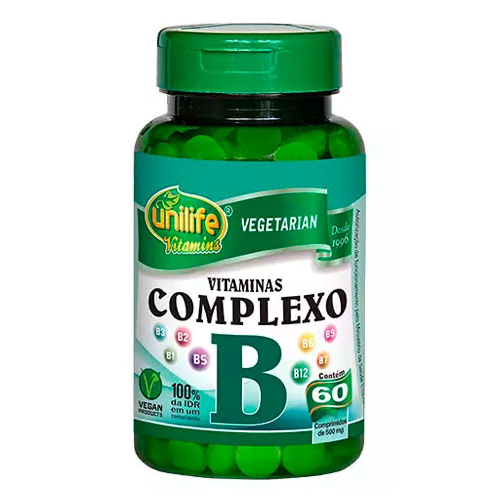 Complexo B Vegano 60Caps Unilife