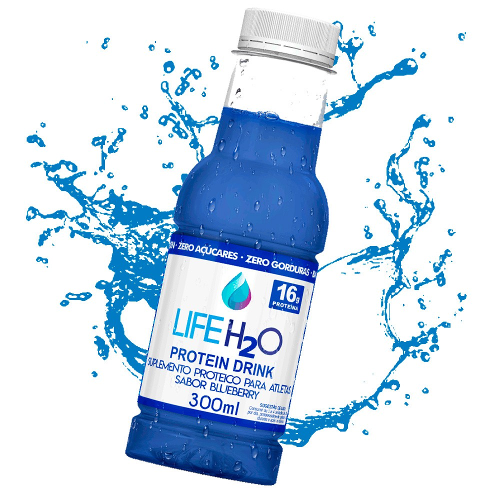 Compre 12 unidades de Life Strong 269ml Ultra Zero Açaí e GANHE 2 unidades de Protein Drink 300ml Life H2O!