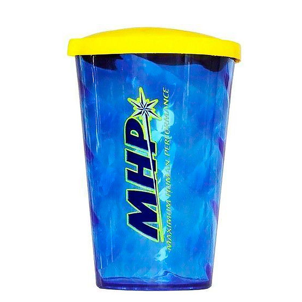Copo Com Tampa Big Twister 700ml Azul MHP