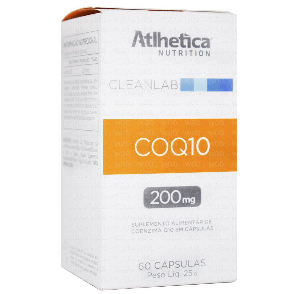 COQ10 200mg 60 caps Atlhetica Nutrition