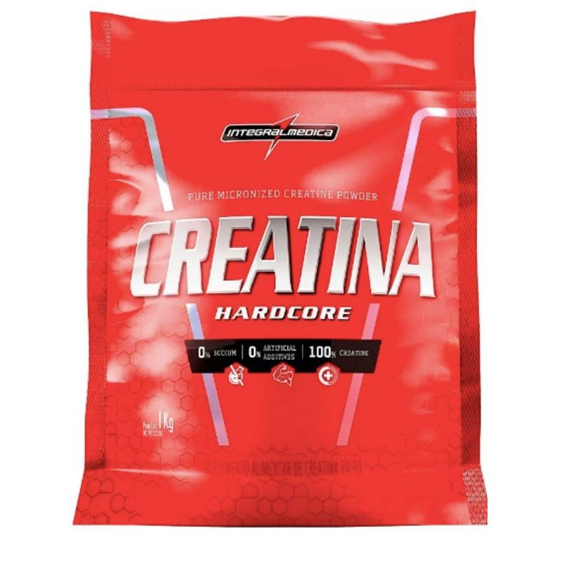 Creatina Hardcore 1kg Integralmedica