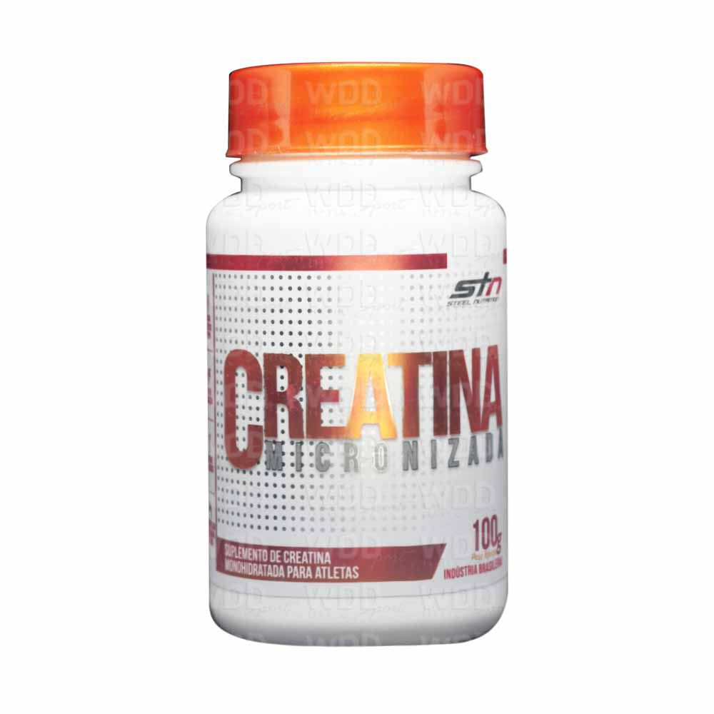 Creatina Micronizada 100g Steel Nutrition