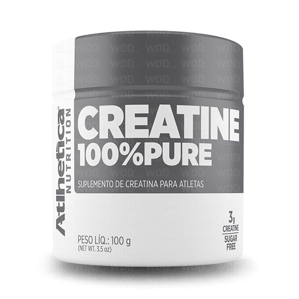Creatine 100% pure 100g Atlhetica