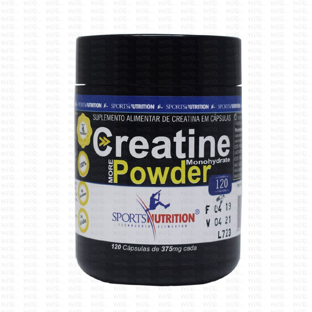 Creatine  375mg 120caps Sports Nutrition