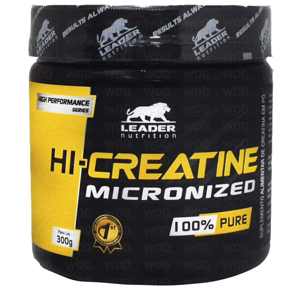 Creatine Micronized 100% Pure 300g Leader Nutrition