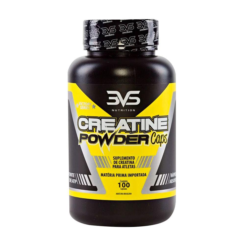 Creatine Powder Caps 100caps 3vs