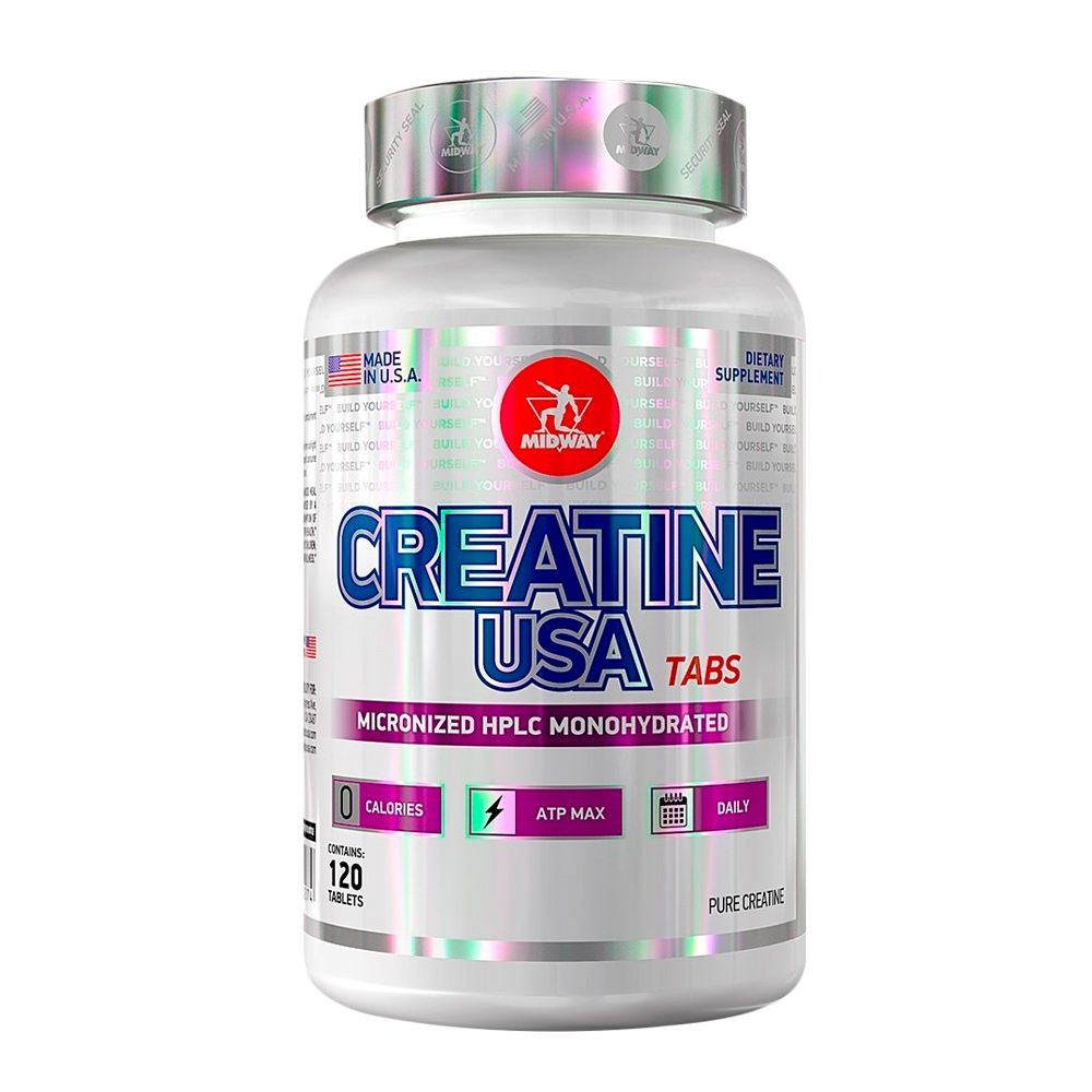 Creatine USA  120 tabs Midway