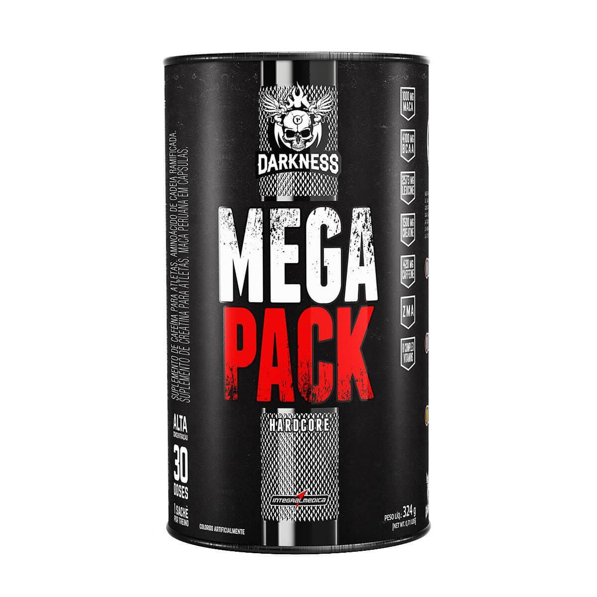 Darkness Mega Pack Hardcore 30 doses 324g Integralmedica