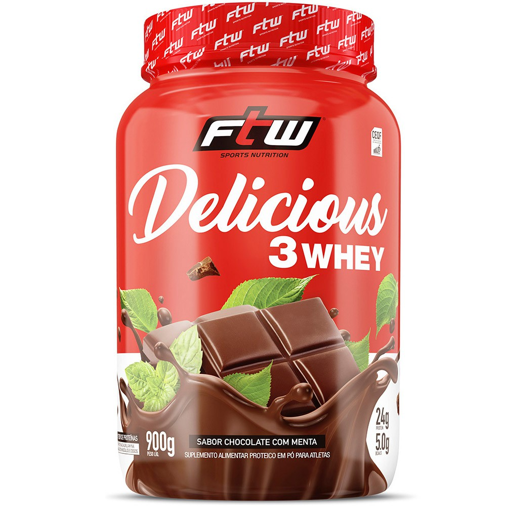 Delicious 3 Whey 900g FTW Sports Nutrition