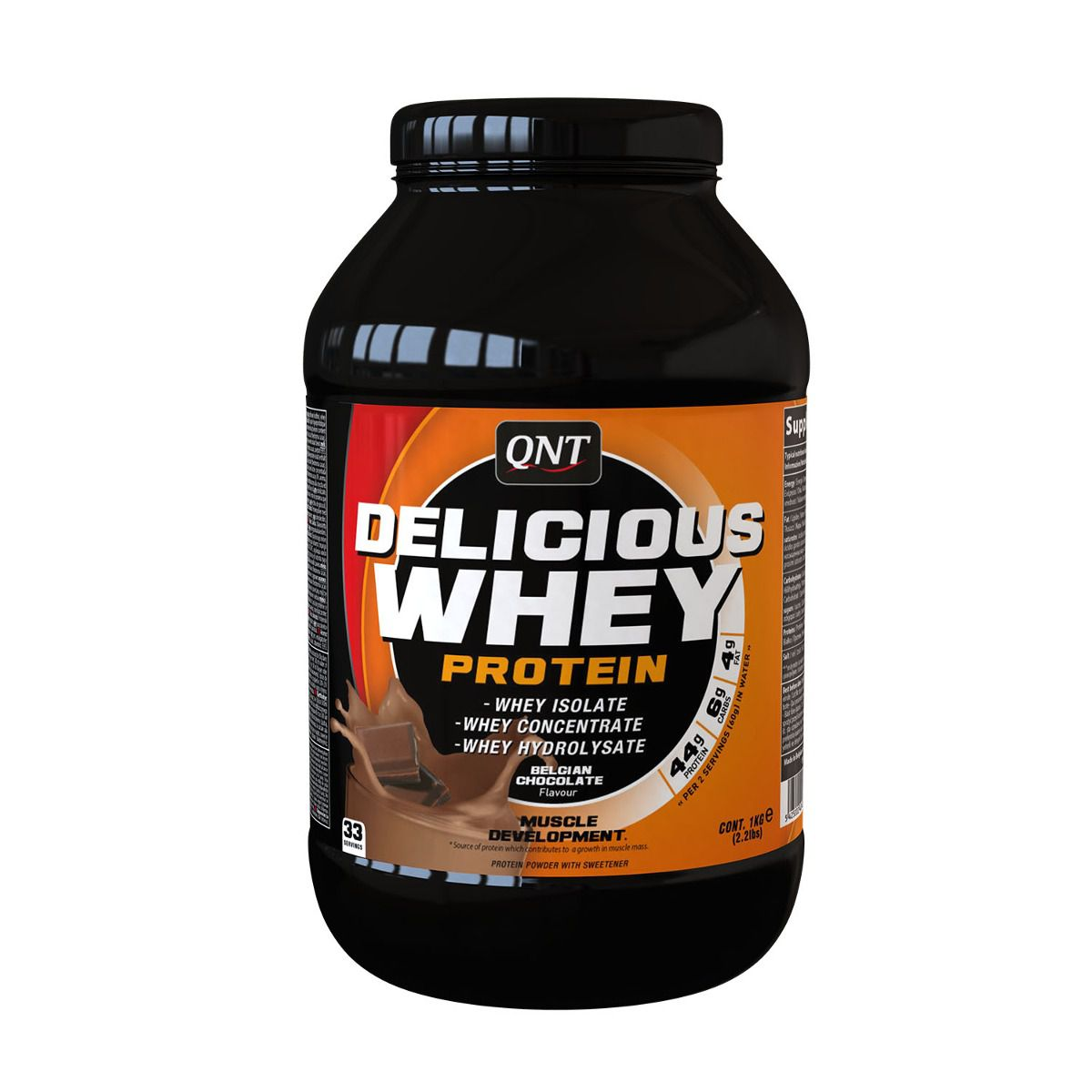 Delicious Whey Protein 1kg (2.2Lbs) Qnt