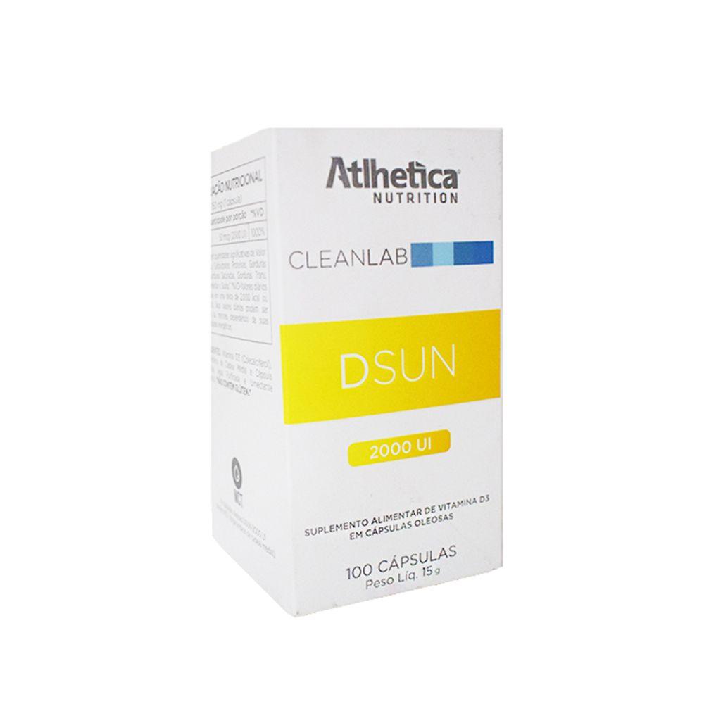 DSUN Vitamina D 2000Ui -   100 caps Atlhetica