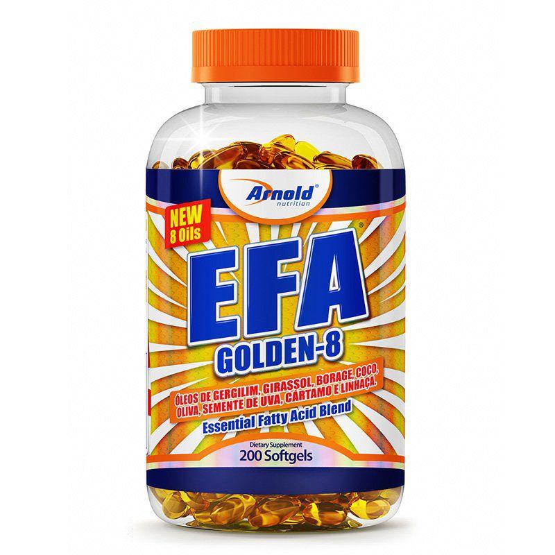 Efa Golden 8 200caps Arnold Nutrition