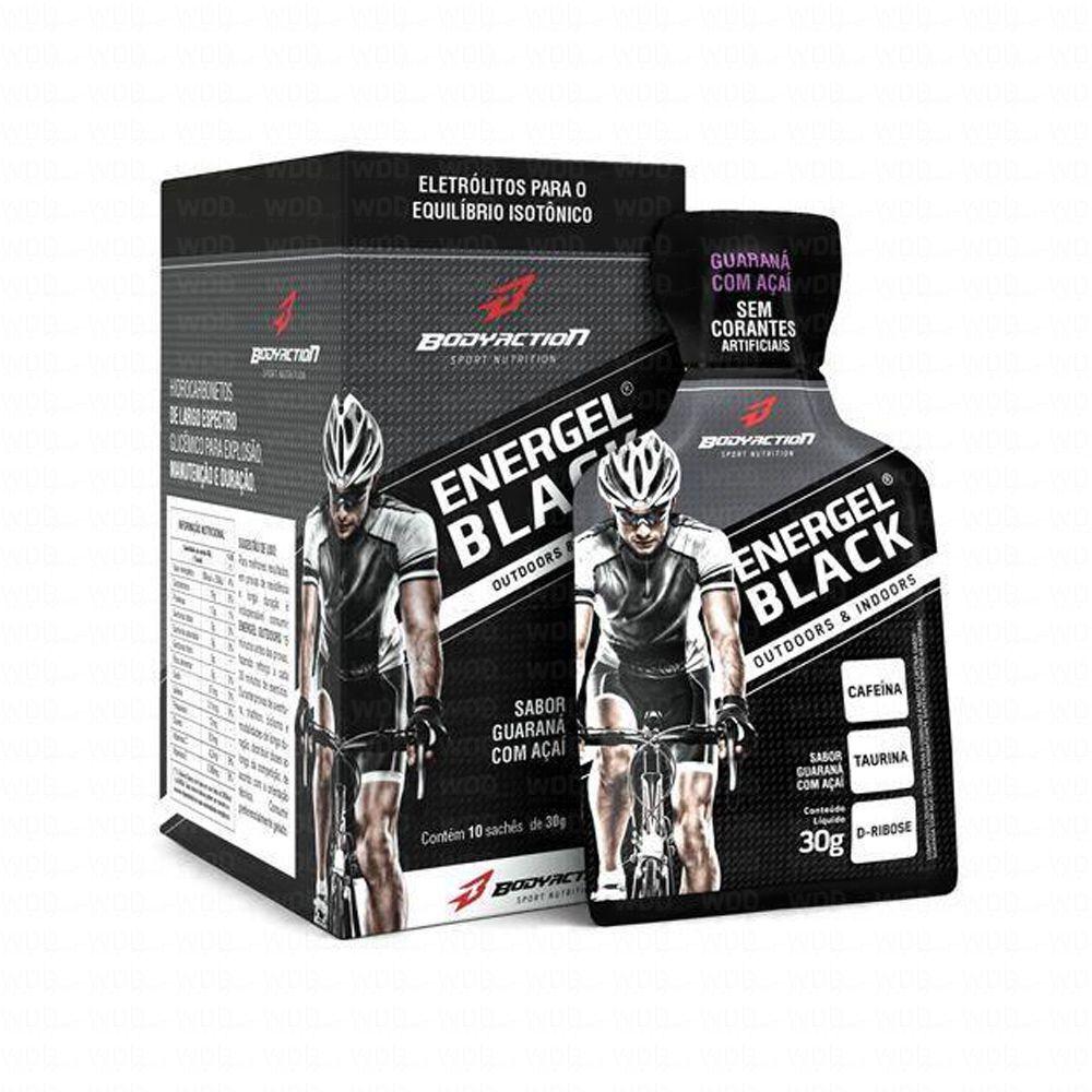 Energel Black cx. c/ 10 Saches de 30g Body Action